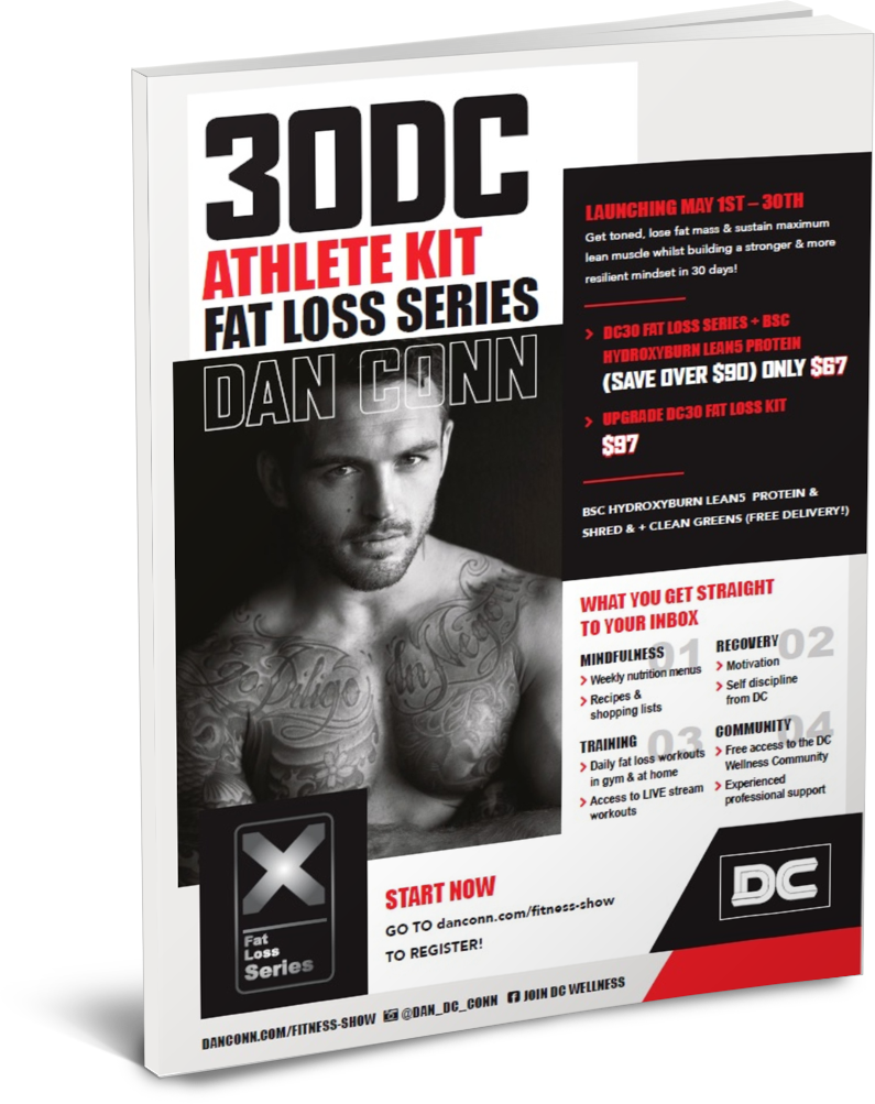 30DC Athlete Kit Fat Loss Series